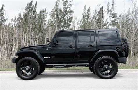 Murdered Jeep Wrangler Blacked Out Jeep Wrangler By Exclusive Motoring 4x4