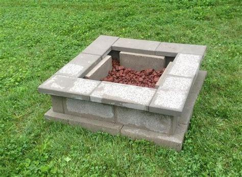 Block Firepit Pit 8 1 2 Size Cinder Blocks 1 07 Ea 12 Cinder Block Cap Stones 1 46 Ea 8