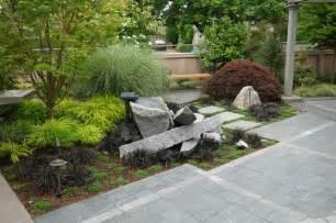 modern industrial japanese garden industrial landscape