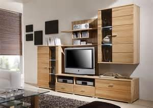 massiv möbel de wohnwand kernbuche m 195 182 bel g 252 nstig kaufen