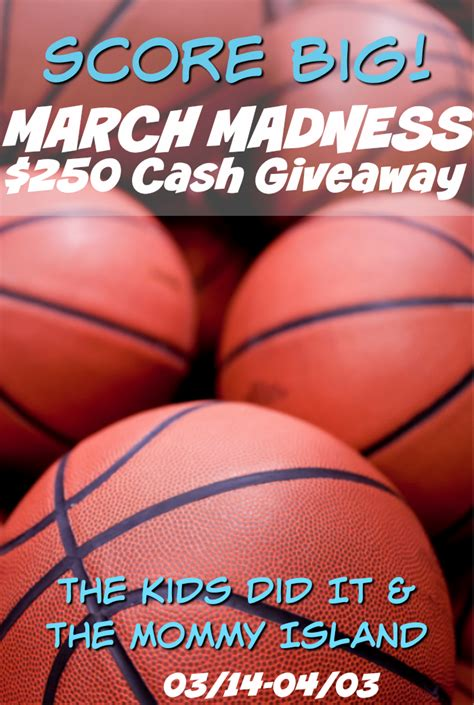 March Madness Sweepstakes - march madness 0 cash giveaway mumblebee inc