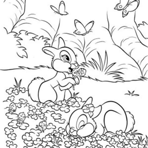 field of flowers coloring page how to draw house rabbits