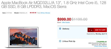13 inch macbook air sale 200 at staples april 13 14 - Apple Macbook Air Sale