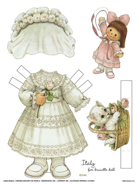 Doll With Paper - the vintage chest paper dolls