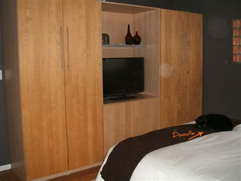ikea hacks bedroom bedroom malm nightstand and pax tv stand hack ikea