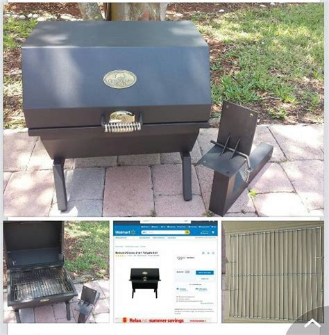 backyard classic 2 in 1 tailgate charcoal grill for sale