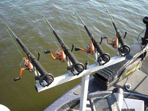 multiple fishing rod holders for boats crappie rod holders for boats tv rod holders pinterest