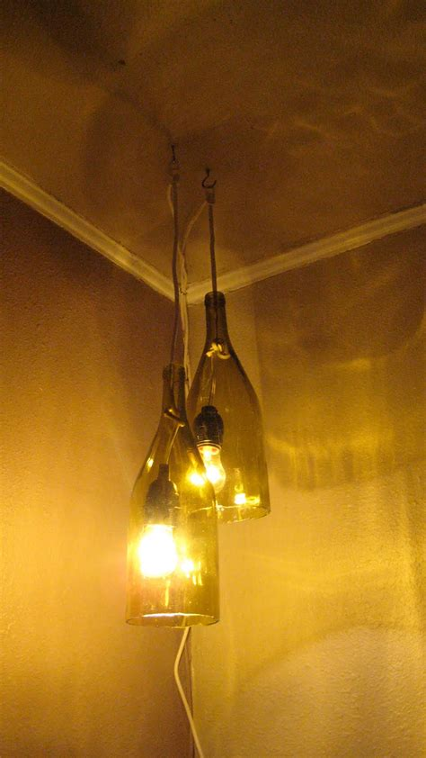 Build A Light Fixture Remodelaholic How To Make A Glass Wine Bottle Pendant Light Diy