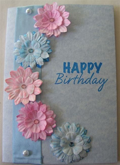 New Ideas For Handmade Cards - 32 handmade birthday card ideas and images