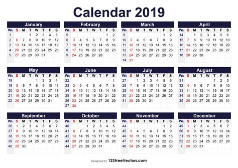 image result   calendar weeks numbered