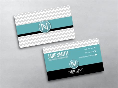 Nerium Business Cards Template by Nerium Business Cards Free Shipping