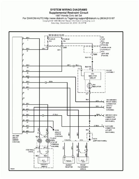 pdf ebook 1997 honda civic sol wiring diagrams