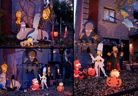 halloween decorations for the home simpsons halloween decor