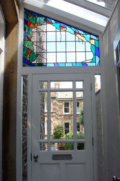 Glass Above Door Doors Fanlights Opus Glass Design Bristol Uk