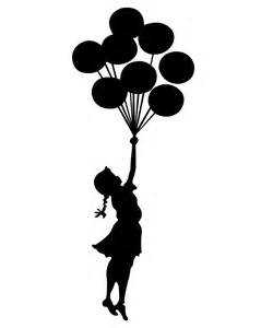 holding balloons silhouette 25 best ideas about silhouette on