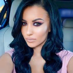 black blue hair color blue black hair color ideas for 2017 new hair