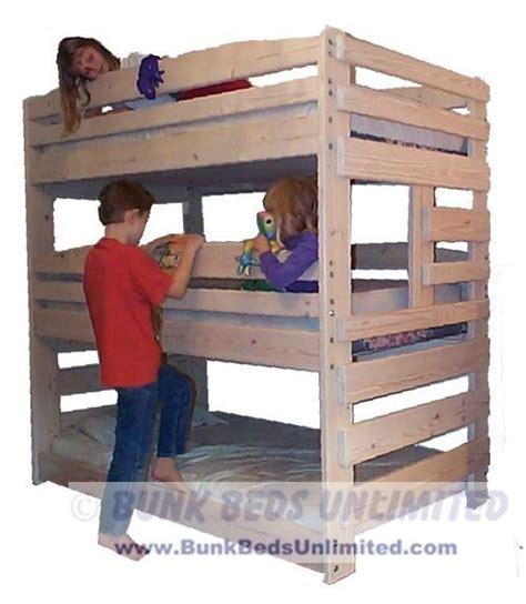 triple bunk bed plans free triple bunk bed plans