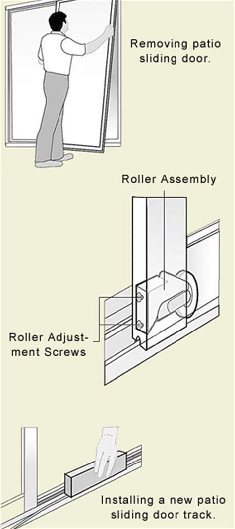 How To Remove Sliding Patio Door How To Maintain A Sliding Glass Door Swisco