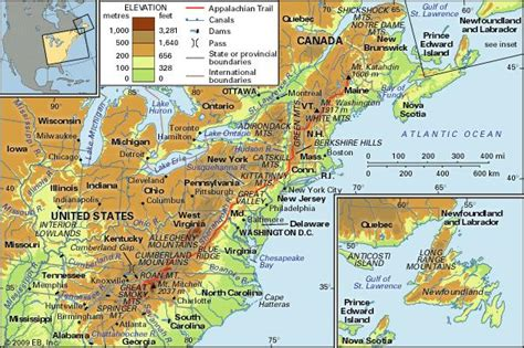 map of us east coast mountain ranges appalachian mountains definition map history facts