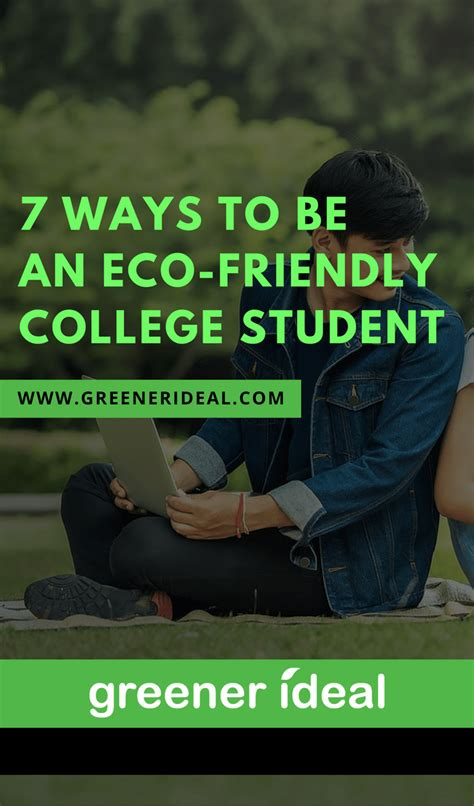 7 Ways To Greener Gadgetry by 7 Ways To Be An Eco Friendly College Student Greener Ideal
