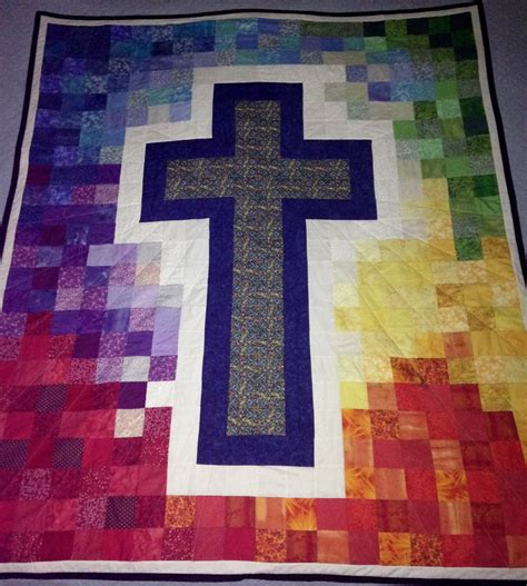 Cross Quilt Patterns by Quilted Cross Pattern