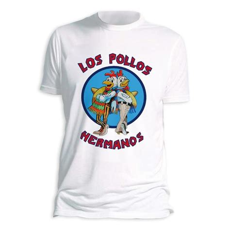 Tees Breaking Bad breaking bad t shirt quot los pollos hermanos quot im fanshop kaufen