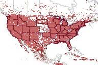 minerals map united states