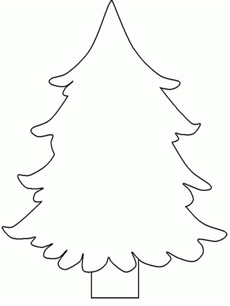 pine tree coloring page coloring home
