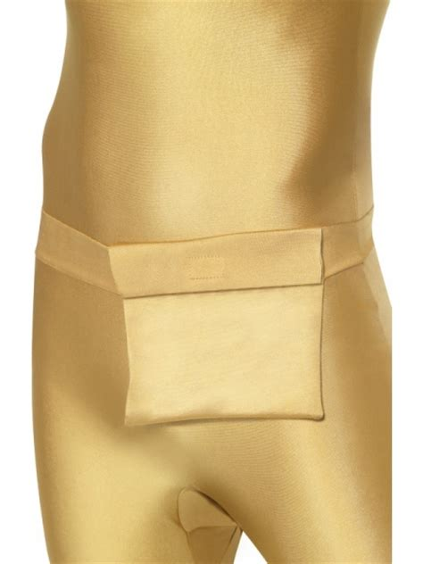 Gold Morphsuit Halloween Store Prague