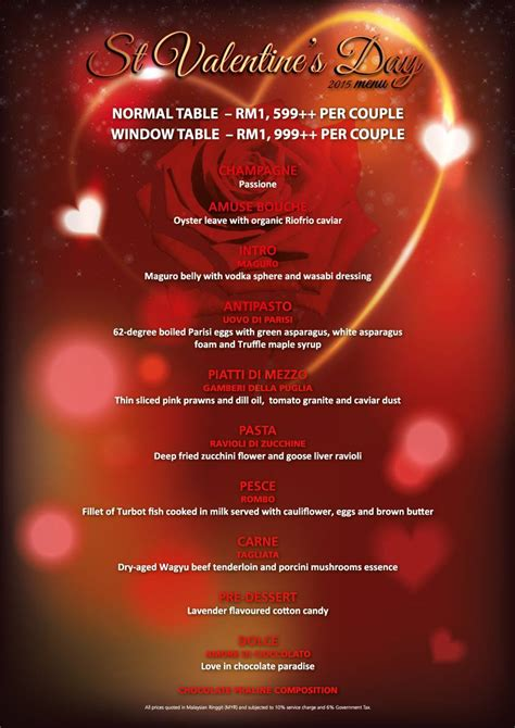 valentines day restaurant menu 12 restaurants for valentine s day dinner 2015 timchew net