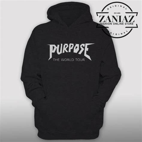 Hoodie Purpose The World Tour Brothersapparel hoodie purpose the world tour custom mens hoodie womens hoodie