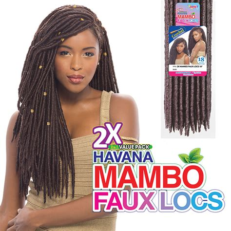 sol ombre 613 janet hair 28 pieces janet collection synthetic hair havana mambo faux locs 18