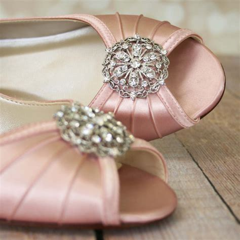 Blush Wedding Shoes For by Pink Wedding Shoes Blush Pink Shoes Vintage Wedding Shoes