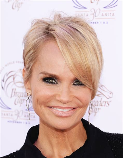 kristin chenoweth short hairstyle with hairstyles hair kristin chenoweth s pixie with long side bangs hairstyle