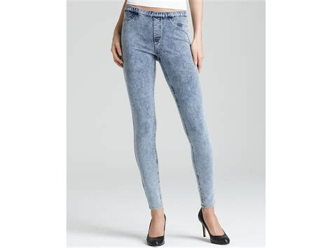 light stone washed denim jeans ash hue stone washed jeans legging in blue light denim