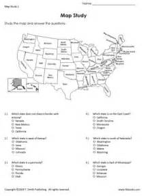map activities for us geography classes map study 1