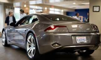 Electric Car Fisker Tesla The Fisker Karma An Electric Car With Curb Appeal