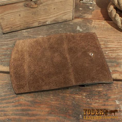 Hippo Brown brown hippo leather clutch yoder leather company