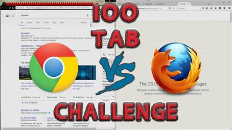 chrome vs firefox google chrome vs mozilla firefox 2017 youtube