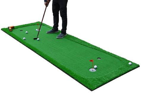 Indoor Golf Mat by 3 3 X10 Indoor Outdoor Practice Golf Putting Green