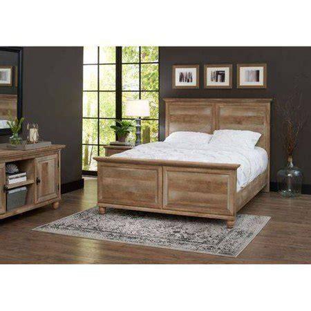 walmart better homes and gardens furniture better homes and gardens crossmill bed weathered finish walmart