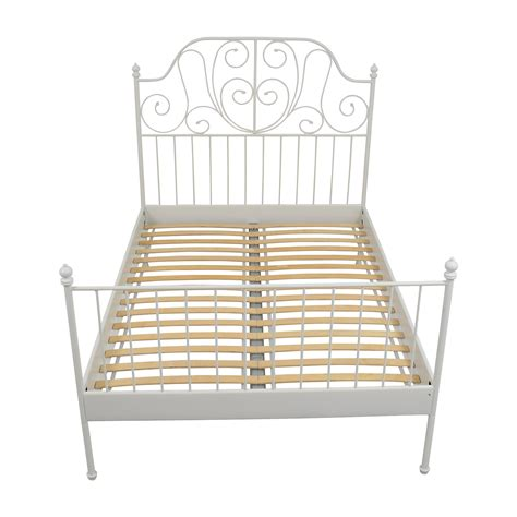 Ikea Metal Headboard by Size Bed Frames Cheerwing Black Twinfull Size Metal Bed Frame Platform Headboard Steel