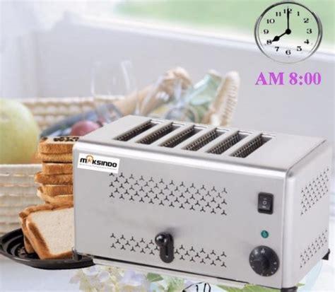 membuat roti bakar dengan toaster jual mesin bread toaster roti bakar d06 di tangerang