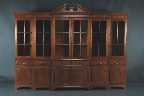 china hutch large mahogany china cabinet large breakfront