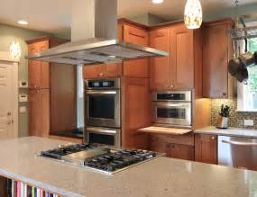 kitchen island with cooktop if only mom could have seen this kitchen diane gordon design