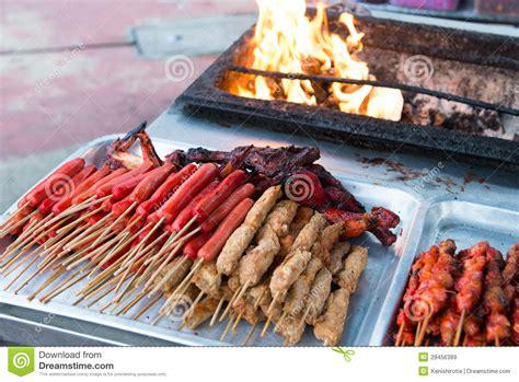 Le Poulet Grillé by Nourriture Asiatique De Barbecue Image Stock Image Du