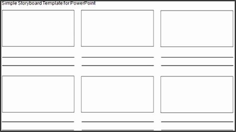 6 Storyboard Template In Word Sletemplatess Sletemplatess Microsoft Excel Storyboard Template