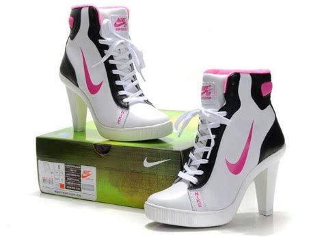 high heel nike shoes nike high heels tennis shoes fashion my of style