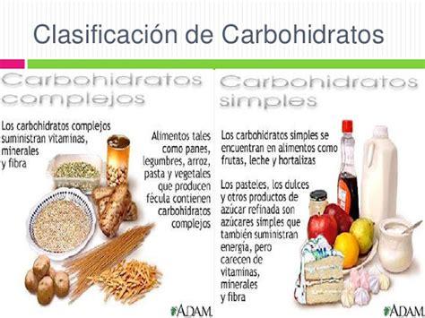alimentos con hidratos de carbono hidratos de carbono deproteinas
