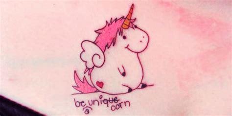 imagenes de unicornios tiernos las 25 mejores ideas sobre tatuajes de unicornio en